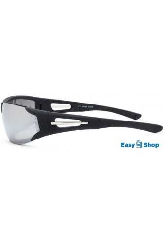 Sports Sunglasses mirrored Silver