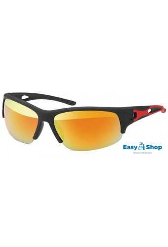 Sports Sunglasses Revo-mirrored Red