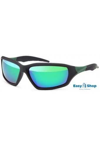 Sports Sunglasses Revo-mirrored Polycarbonat Green